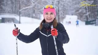 беговые лыжи уроки для начинающих