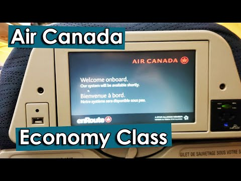 Air Canada Economy Class From Edmonton To Houston & Back |  Reviews Of Each Airplane Taken