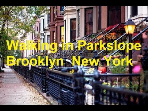 Walking On 7th Ave. To Parkslope In Brooklyn New York