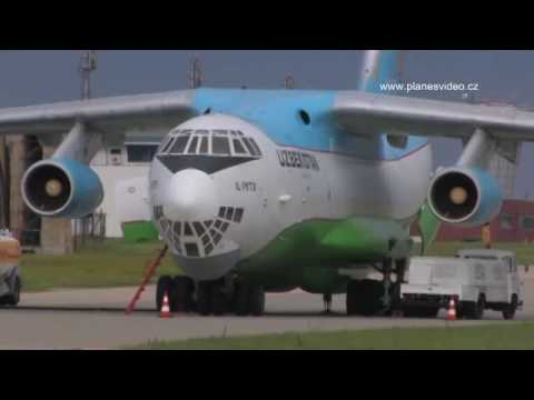Aviation Video- Ilyushin Il-76 - Uzbekistan Airways.flv