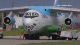 Aviation Video- Ilyushin Il-76 - Uzbekistan