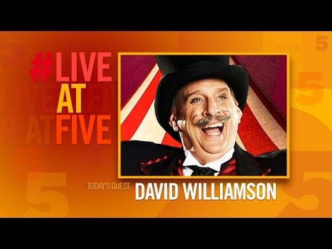 Broadway.com #LiveatFive with David Williamson CIRCUS 1903