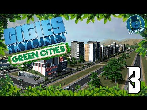 Cities Skylines: Green Cities #3 Edificios Autosuficientes | en español