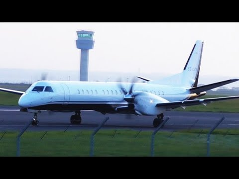 A calm Spring evening at Liverpool Airport | 23/03/2016