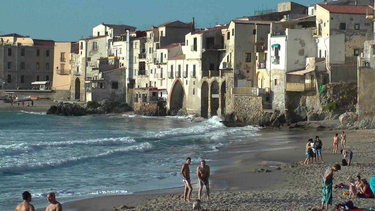 sicily by car part 2 monreale cefalu youtube. Black Bedroom Furniture Sets. Home Design Ideas