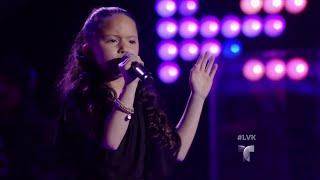 Carmen canta con energía 'Ríe y Llora' | Audiciones | La Voz Kids 2016
