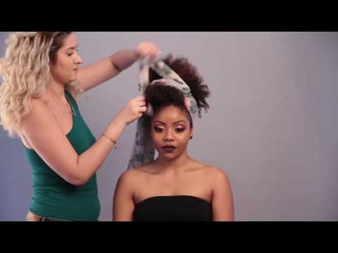 Afro Hairstyle By Hélène Clément