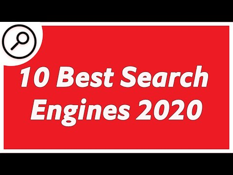 Top 10 Most Popular Search Engines (2009-2020)! Best Search Engine. from YouTube · Duration:  4 minutes 28 seconds