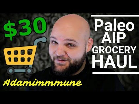 Paleo AIP/Keto GROCERY HAUL on a budget?!? (For Autoimmune Health & Weight Loss)