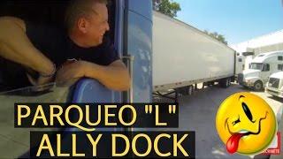 A PARQUEAR en forma de L y Conoce el LOG BOOK AMERICANO - Meteoro Trucker
