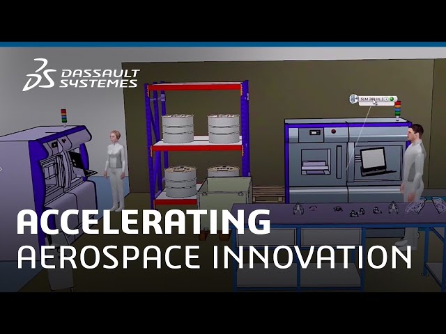 Accelerating Aerospace Innovation with Your Future Factory Strategy: Part 2 - Dassault Systèmes