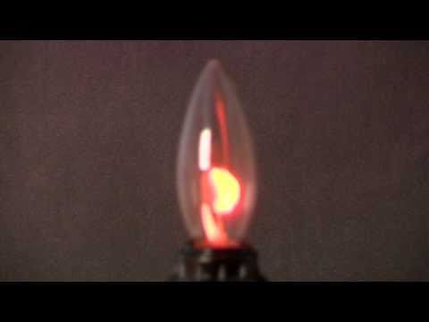 Flicker Flame Candle Bulb 42140 Youtube