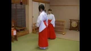 Negai-no-miya Shrine / Miko