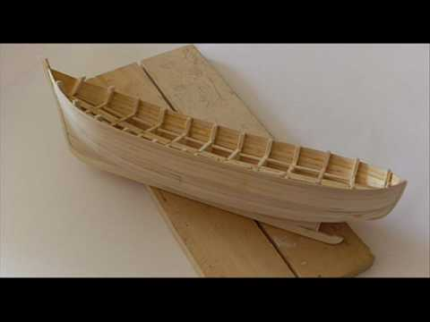 Model-Making - Making of a Fishing Boat Model - YouTube