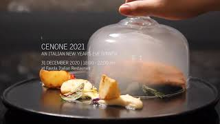 CENONE 2021, A New Year's EVE Dinner