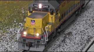 Review: Athearn SD40T-2 Tunnel Motor w/Economi & SD40 HO Scale! Special Shout out to Carter!