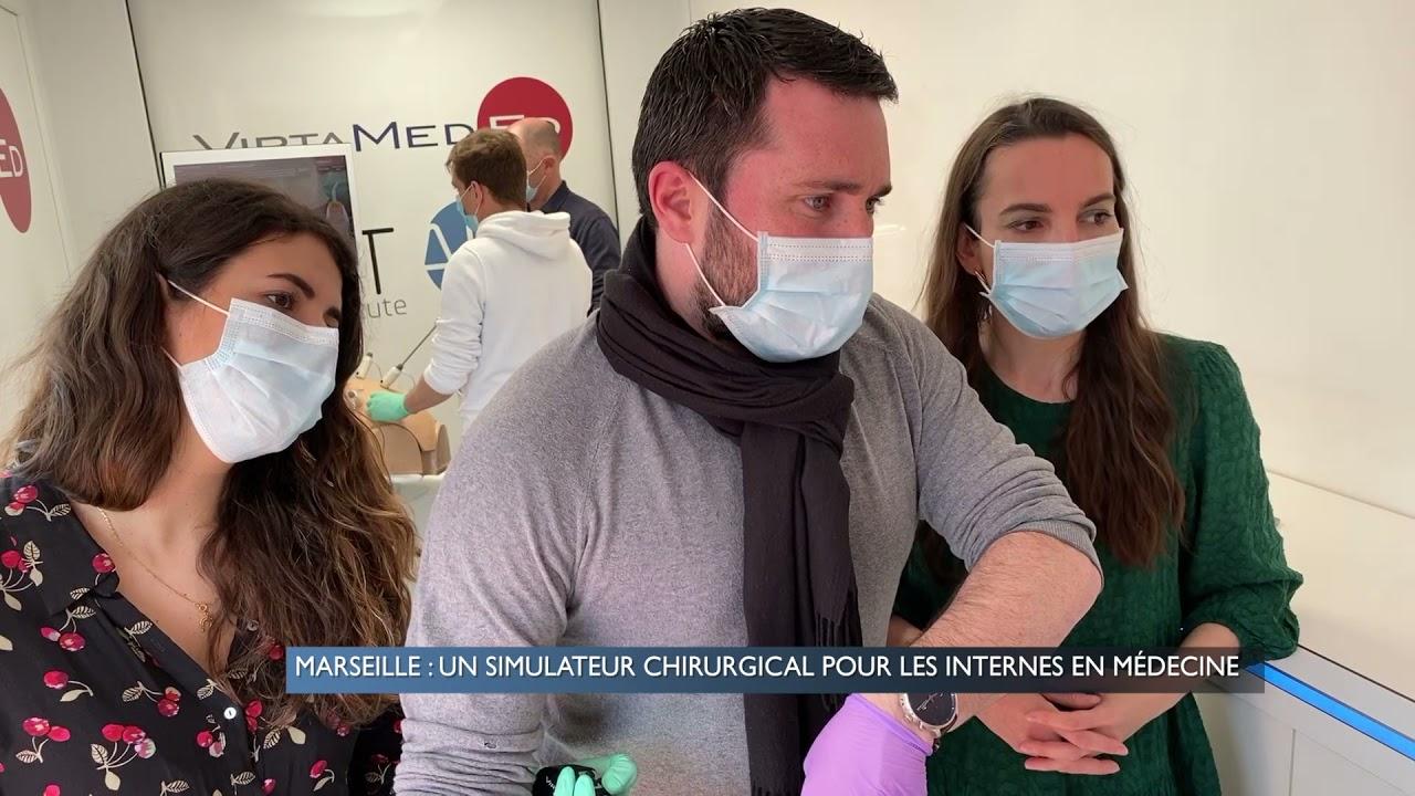 Marseille : Un simulateur chirurgical pour les internes en médecine