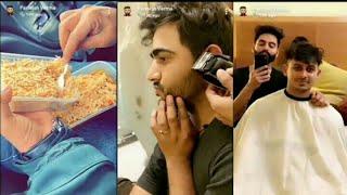 Parmish Verma Snapchat - 26/03/2019 Laddi Bhullar enjoy hairstyle Laddi new Song Pinda A Jatt Song