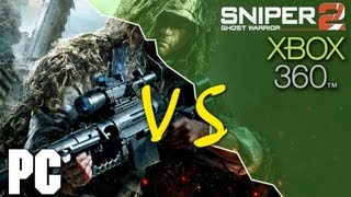Sniper: Ghost Warrior 2 PC vs XBOX 360 Comparison (HD)
