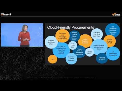 AWS re:Invent 2015 | World Wide Public Sector  Breakfast