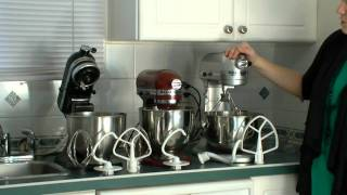 KitchenAid Pro vs. KitchenAid Artisan vs. KitchenAid Classic Compared(We've had our KitchenAid Mixers for a while now and thought we'd do and 3 way comparison of them. Bowl Size: Classic holds 4.5 Quarts while the Artisan and ..., 2011-10-25T10:59:23.000Z)