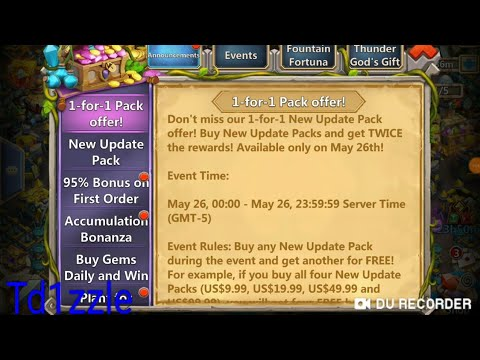 Castle Clash: 1-for-1 Purchase Event On Adroid, GO!!!!