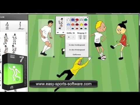 Coaches Software: easy Sports-Graphics 7 PROFESSIONAL - Trikotfarben