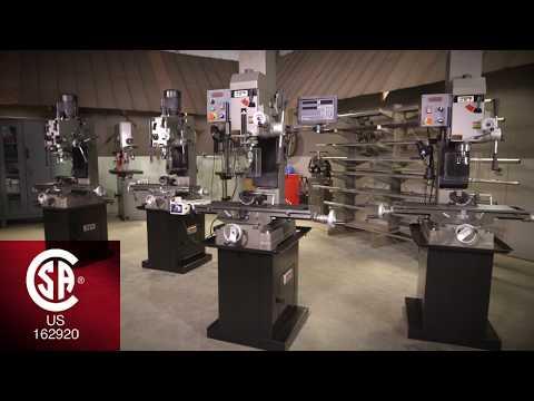 JET Square Column Geared Head Mill / Drills