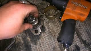 ремонт ступицы экскаватора погрузчика cat428b и про официальных диллеров запчастей