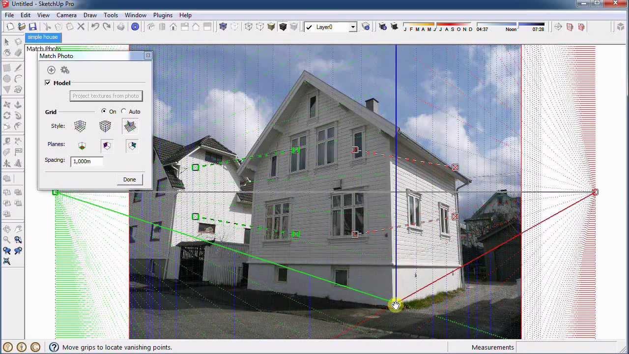 Tutorial sketchup c mo insertar un modelo 3d en una foto for Mobilia para sketchup 8