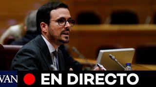 DIRECTO: Alberto Garzón detalla la situación respecto a la subida de la luz