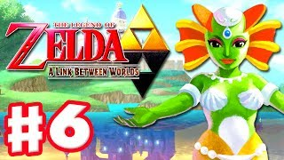 The Legend of Zelda: A Link Between Worlds - Gameplay Walkthrough Part 6 - Zora