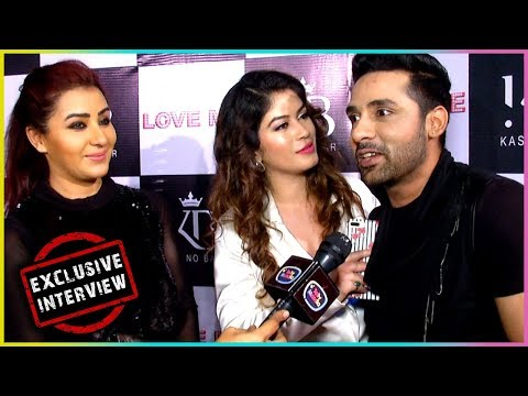Shilpa Shinde, Puneesh And Bandgi At Love Me Song Launch | Exclusive Interview | TellyMasala