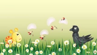 ворона из пластилина, урок 6 как слепить ворону, лепим ворону