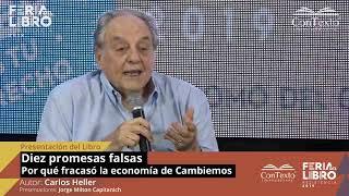 """Capitanich y Heller presentan """"Diez Promesas Falsas. Por qué fracasó la economía de Cambiemos"""""""