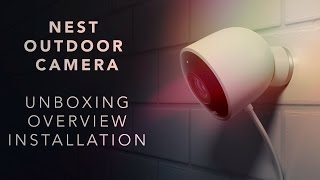 Nest Outdoor Camera Review, install & overview!