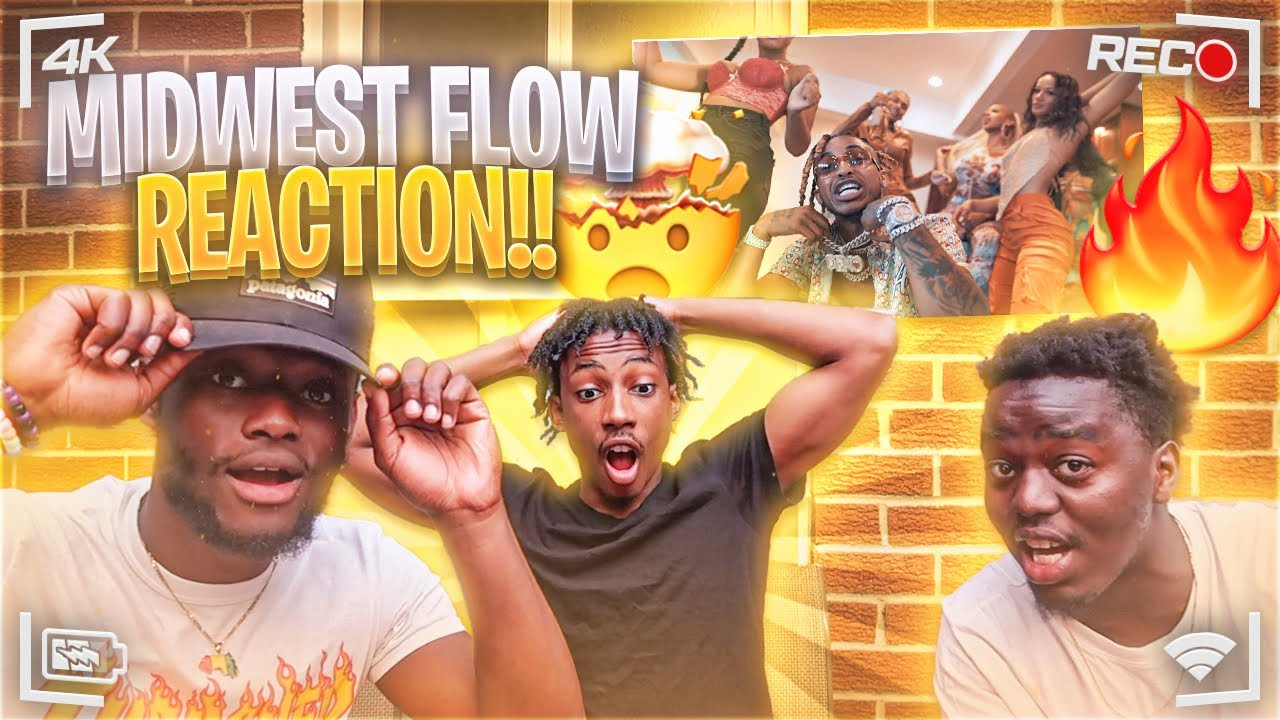 DDG - Midwest Flow (Official Video) REACTION!