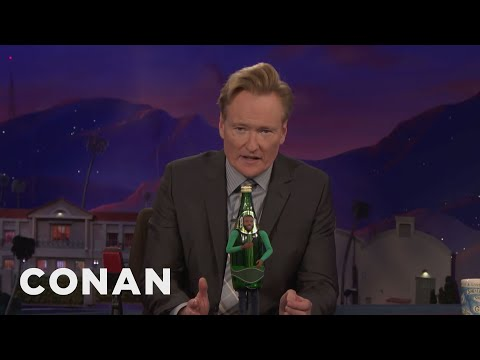 Perrier's Limited Edition PerriYeezy Bottles  - CONAN on TBS