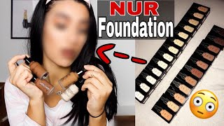 KOMPLETTES Make Up NUR mit FOUNDATIONS 😳 + VERLOSUNG 😍 - Ebru Acikyol