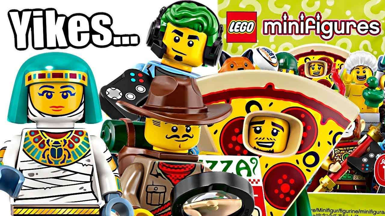 Why LEGO Minifigures Series 19 is disappointing. - YouTube