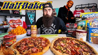 EATING THE ENTIRE MUNCHIES ORDER FROM THE MOVIE HALF-BAKED CHALLENGE | BeardMeatsFood