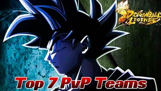 Die Top 7 PvP Teams! ;) Saiyajin und Ginyu Force ftw? | Dragon Ball Legends Deutsch