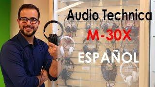 Audífonos Audio Technica M30X review y analisis en español.