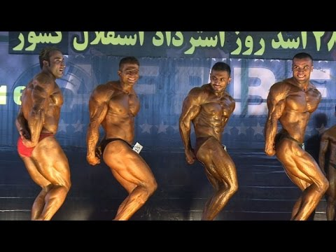 Kabul hosts 'M. Afghanistan' bodybuilding competition
