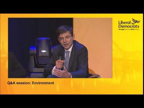 Environment Q&A at the Liberal Democrat Conference 2014