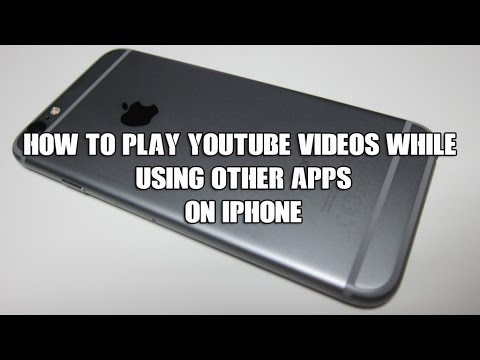 How to play YouTube videos while using other apps on ...