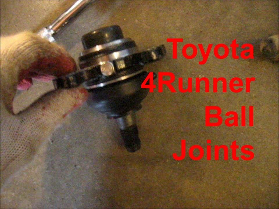 4runner Gets New Ball Joints Again Youtube
