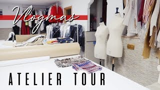 Ep.12 TOUR DEL ATELIER - Office tour | Nightnonstop