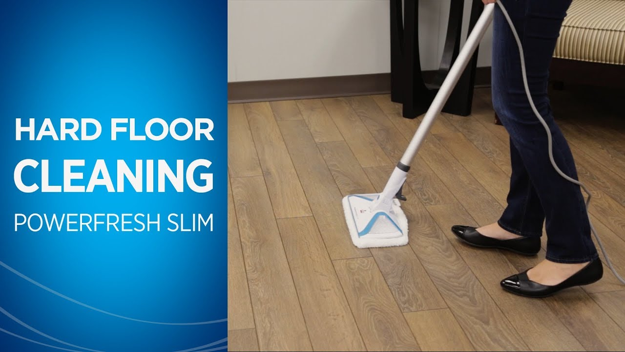 How To Clean Hard Floors With Your Fresh Slim Steam Mop