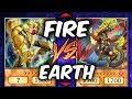 I'M ON FIRE! Yugioh FIRE vs EARTH (YU-GI-OH! Themed Decks)